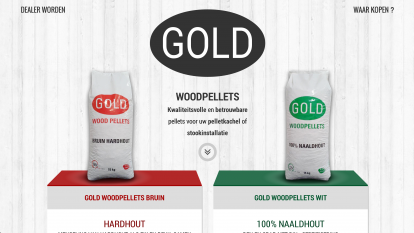 Gold Woodpellets